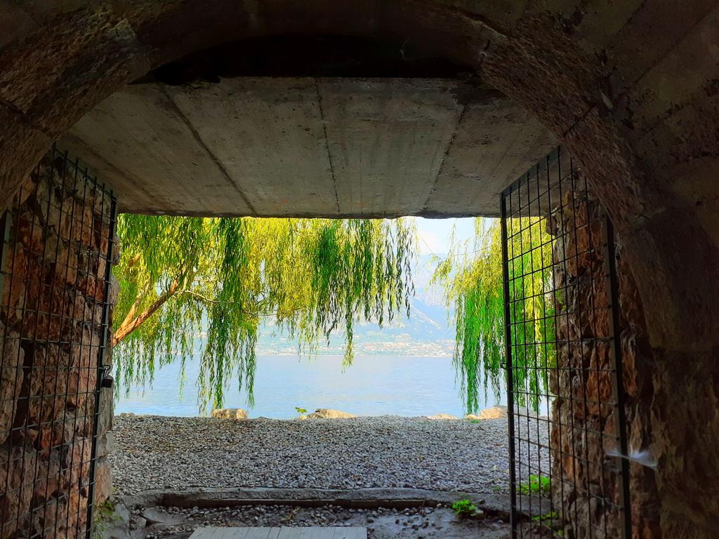Private entrance to the lake